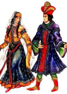 Армянский национальный костюм для девочки 135