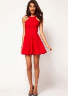 e06c87938b5 Красное платье с красными туфлями (67 фото)  какие туфли подойдут ...
