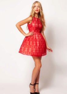 9dc89f3fd83 Красное платье с красными туфлями (67 фото)  какие туфли подойдут ...