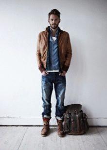 6232f586aa2 ... высоких мужских сапог. Дизайнеры делают обувь как можно интереснее и  красивее. Есть сапоги на шнуровке или на молнии