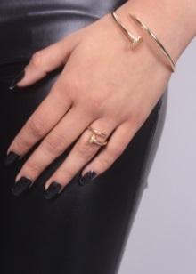 картье кольцо гвоздь фото