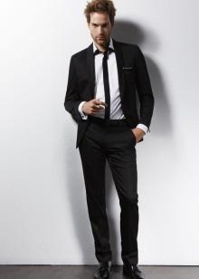 fef326ddf296 В идеале костюм в классическом стиле должен быть выполнен в одном тоне. То  есть, брюки должны сочетаться с пиджаком. Впрочем, это касается не только  цвета, ...