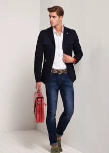 Стиль полуклассика одежда