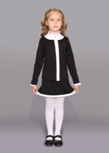75cd292ade5 Для школьной формы можно выбрать платья, юбки, сарафаны, брюки, жилеты,  пиджаки, различного покроя рубашки и блузы и даже обычные водолазки и  кардиганы.