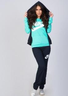 5295de04 Женская спортивная одежда Nike (64 фото): компрессионные модели для ...