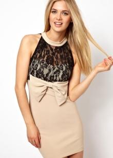 Макияж под бежевое платье: цвета для вечернего make-up на выпускной для брюнеток и блондинок