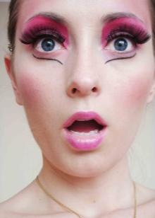Макияж в стиле куклы Барби (28 фото): как сделать кукольный make-up, пошаговое руководство, делаем образ Монстер Хай