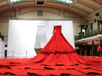 Самое большое платье было сшито для 154