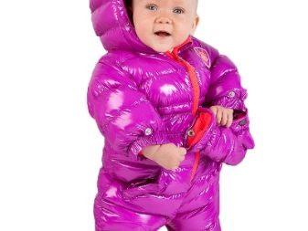 Комбинезон осень зима для новорожденных и на вырост