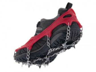 Ботинки с шипами: зимние с выдвижными шипами на подошве, мужские и женские шипованные от Meindl