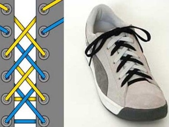Клевая шнуровка на кеды с 5 дырками