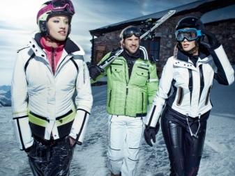 Горнолыжная одежда для женщин (84 фото)  женские модели для спорта и ... 4112aa8ad88