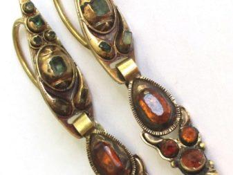 Серьги с агатом: классика - черный агат в серебре, модные золотые и серебряные сережки с зеленым камнем