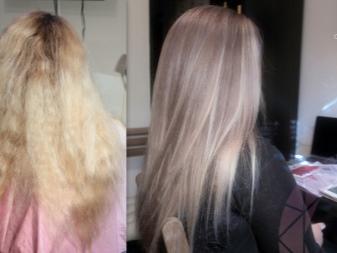 Тоники для волос до и после фото