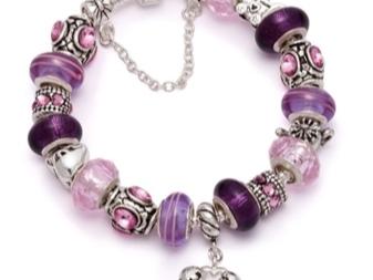 Cеребряные браслеты Sunlight: женские украшения с шармами из серебра серии Мать и дитя