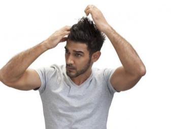 Как уложить торчащие волосы мужчине