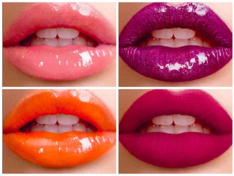 Блески для губ лореаль палитра