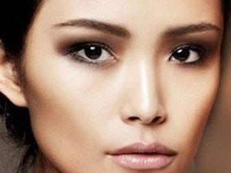 Макияж для азиатских глаз (34 фото): особенности нанесения make-up для китаянок, азиаток и европейских девушек