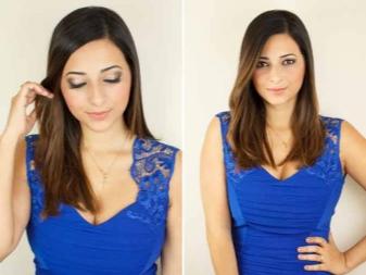 Макияж под синее платье (52 фото): какой вечерний make-up подойдет под темно-синее платье для брюнетки и блондинки