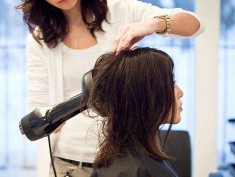 Как сделать объём волос феном 687