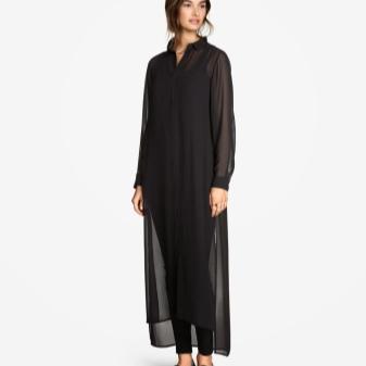 2f65674dd72 Платье-рубашка из такого материала смотрится само по себе очень хорошо