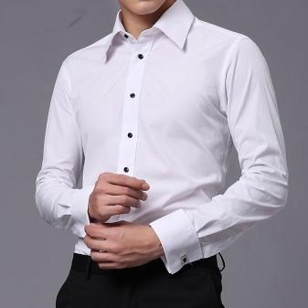 06665c6a016 Рубашки под запонки (48 фото)  как правильно носить