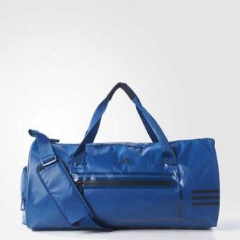 Кожаные спортивные сумки: мужские и женские для фитнеса