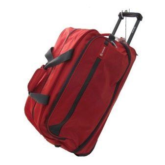 Сумка на колесах с выдвижной ручкой (89 фото): сумка-тележка, сумка-чемодан, хоккейная, складная, детская