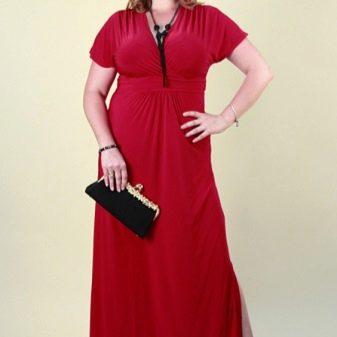 cd22e0cd17a Роскошные платья для полных женщин (51 фото ну просто на любой вкус ...