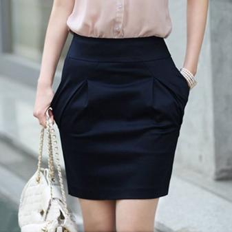 Из какой ткани сделана юбка