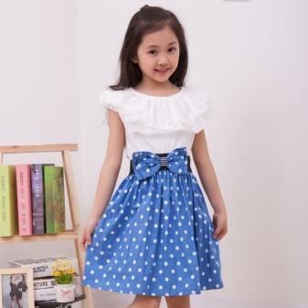 Летние платья для девочек 9 лет