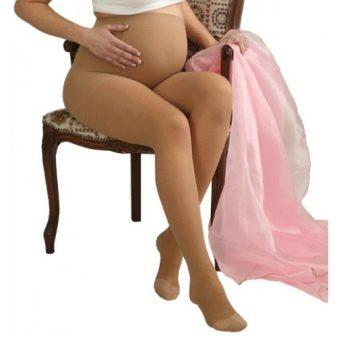 Компрессионные колготки и чулки для беременных