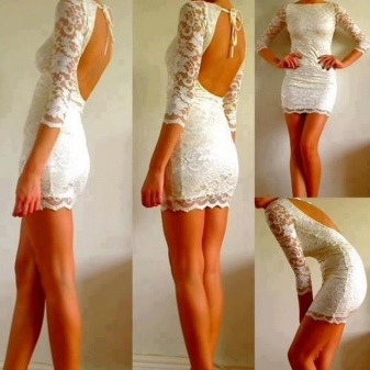 7721d7636f8 Платье с открытой спиной (102 фото)  длинное