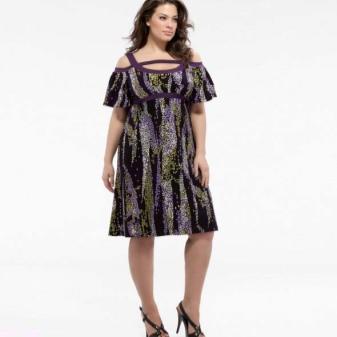 1b11a5c2c688943 Женщинам с пышными бедрами тоже показан именно такой фасон данного платья.
