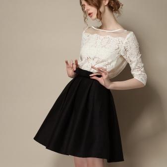 Черные юбки для девочек подростков