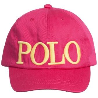 Бейсболка Ralph Lauren (Ральф Лорен): розовая, черная, желтая и белая бейсболка polo