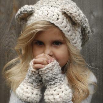 вязаные шапки для девочек 94 фото для подростков 12 14 лет с