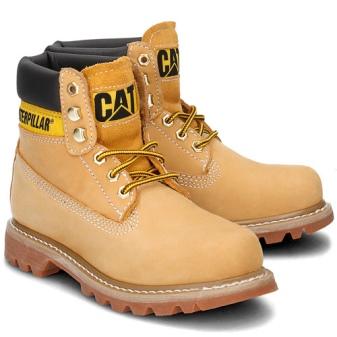 c2bf14505 Символом стали желтые ботинки этой марки. Популярные изделия носят  студенты, рабочие, спортсмены – все люди, которые ценят свободу движений,  удобство, ...