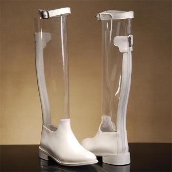 55641f4ba На пике популярности и прозрачные модели. Они для самых смелых и  экстравагантных, ведь ваши ноги будут видны полностью. А значит, они должны  быть идеальны.