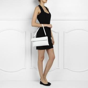 Белый клатч (45 фото): лаковая сумка-клатч, лакированные
