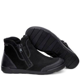 Женские ботинки Ecco (29 фото): зимние и демисезонные, модели trace lite и gore tex
