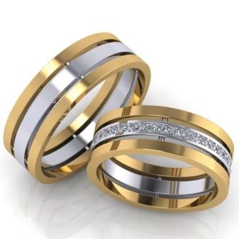 Эксклюзивные обручальные кольца (53 фото): оригинальные парные свадебные украшения необычного дизайна