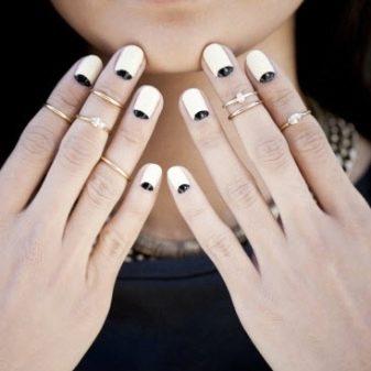 Кольца на фаланги (61 фото): фаланговые украшения размером на две фаланги пальца