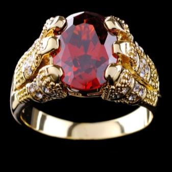 Мужской перстень с рубином (27 фото): золотые украшения для мужчин