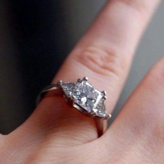 Обручальные кольца с бриллиантами (72 фото): эксклюзивные женские модели с черными камнями