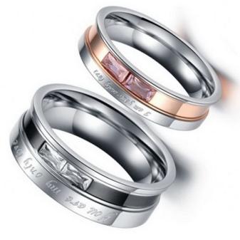 Парные кольца (71 фото): модели для влюбленных из серебра и белого золота, серебряные и золотые кольца Спаси и Сохрани
