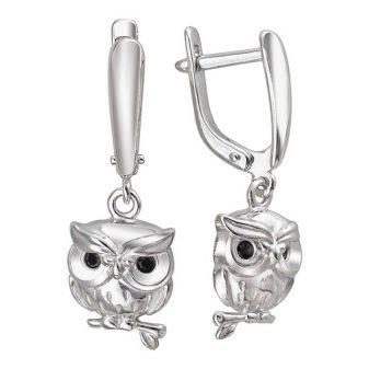 Серебряные серьги (128 фото): сережки из серебра с горным хрусталем и другими натуральными камнями