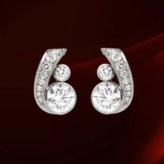 Серьги Cartier (31 фото): сережки от французского бренда
