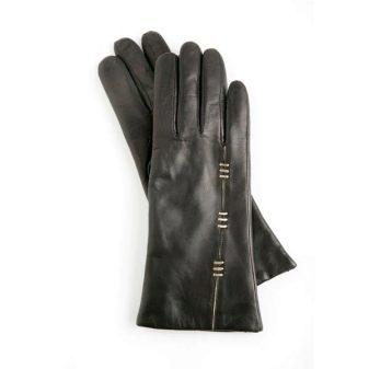 Женские перчатки (120 фото): как определить размер по таблице, в моде черные кожаные и замшевые модели Eleganzza