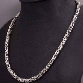 Цепочка из платины: женское платиновое украшение